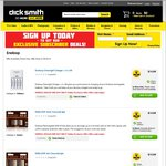 Eneloop Chocolat AA/AAA 8pk $15 + $7.95 P&H @ Dick Smith