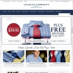 New 2015 Shirts @ Charles Tyrwhitt $39.95 Delivered