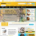 Petbarn 20% off Online with Code Plus Free Shipping*