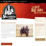 50% off Our 40g Bags of Beef Jerky (8 Varieties Available): $3ea + Postage @ Geronimo Jerky