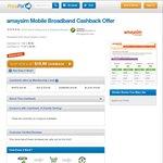 Amaysim 1GB Data Sim $9.90 (+up to $9.90 Cashback) via Pricepal