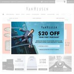 Extra 30% off Sitewide (Incl Sale) at VanHeusen with VHEOFY15