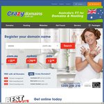 Crazy Domains 25% off on Any Product Category
