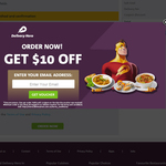 Delivery Hero: Get $10 off $20 Spend