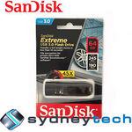 64 GB SanDisk Extreme SDCZ80-064G USB3 Flash Drive $50.95 Delivered @ eBay