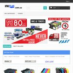 30% off Compatible Ink & Toner Cartridges for Canon, Brother, Epson & HP Printer Models @ InkFlux