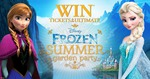 Win Tickets to The Ultimate Frozen Summer Garden Party in Sydney or Melb - Buy Frozen from Big W