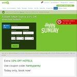 10% off on Hotel Bookings @ Wotif