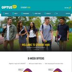 Optus $36/m 7GB and $45/m 10GB (Uniday Students)