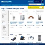 Masters Catalogue:10%-50% off Plants/Solar Lighting, 25% off Pool Toys, 2 Kids Chairs $10 & more