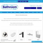 25% off Sitewide @ Online Bathroomware | Extra 5% off with Code