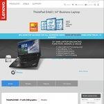 "Lenovo ThinkPad E460 i7-6500u (3.1GHz) 8GB FHD 14"" 2GB VRAM $899 Shipped @ Lenovo"