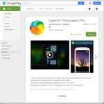 Lapse It: Time Lapse Pro $0.20, War Robots in App $0.20 @ Google Play