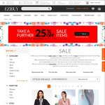 Further 25% off Already Reduced Price at Ezibuy