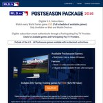MLB.tv World Series Matches $9.95USD (Include All past 2016 Postseason Games) - Major League Baseball