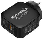 BlitzWolf® BW-S6 Quick Charge 3.0+2.4a 30W Charger AU Adapter USD $9.69 (AU $12.84) Shipped @ Banggood Preorder