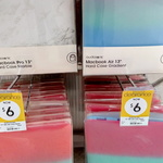 "Plastic Case for MacBook Pro 13"" (Marble, Clear, Multi-Colour) $6 @ Kmart (Kippa Ring, QLD)"
