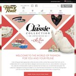 Purchase Fancy Feast Classic Cans and Redeem a Gift – Cat Collars, Cat Bowls, Cat Bed, Scarf & Cushion