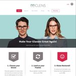 25% off New Lenses for Frames from ANY Brand @ Clens