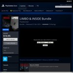 [PS4] LIMBO & INSIDE Bundle $14.95 (from $40.95) @ PS Store
