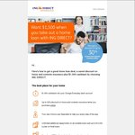 $1500 Cashback from ING Home Loan by Online Application