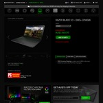 Razer Blade v3 Laptop (2015) QHD Core i7-4720HQ, 16GB RAM 256GB SSD GTX 970M for $1549.95 (-$15 for newsletter) Via Razer Zone