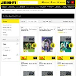 JB Hi-Fi - Classic Doctor Who DVD. Buy One Get One Free - Ends 27th August, 2017