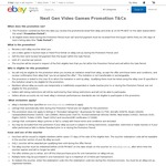 Get a $10 Voucher for Selling Your Video Games on eBay