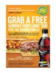 [Sydney Only] Buy One Subway Footlong + Drink --> Get a Free Subway Footlong