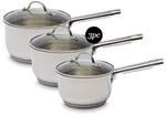 3pc Stainless Steel Cookware Set $49.99 @ ALDI