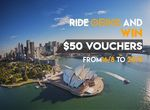 $50 Credit to Use in Sep in Melbourne after Taking 3 Rides with oBike (Requires Signup)