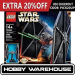 LEGO BOOST Creative Toolbox $188, LEGO Star Wars UCS TIE Fighter $197.52 @ Hobby Warehouse eBay
