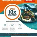 Woolworths Online 10x Points on a Single Shop