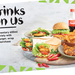 Complimentary 600ml Coke Variety with ​Every Burger, Wrap or Pita Purchase @ Nando's (PERi Perks Members)
