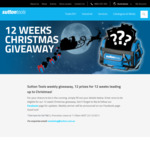 Win 1 of 12 Tool Prizes from Sutton Tools' 12 Weeks of Christmas Giveaway