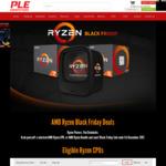 AMD Ryzen 1600x $269 1700x $349 1800x $419 @ PLE Computers
