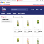 Somersby Apple OR Pear Cider 24x 330ml Bottles - $34.40 from eBay First Choice Liquor (Pick-up) - Other Cider Options Too