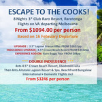 Cook Islands Package From $1094.00 @ Escape Travel