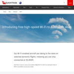 3 Months Free Netflix and Stan for New and Existing Subscribers via Qantas Free In-Flight Wi-Fi