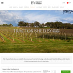 Tractor Shed Wine Sale: Premium SA Wines - Reds, Whites, Dessert - 25% off Storewide + Free Shipping