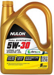 Nulon 5W30 Full Synthetic Long Life Engine Oil 5L $29 (Half Price) @ Autobarn