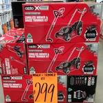 Ozito Power X Change 18V Cordless Lawn Mower & Grass Trimmer Kit $299 @ Bunnings Marsden Park NSW