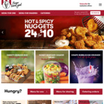 [NSW] KFC $5 Hot Honey Box (until 4PM Daily) Selected Stores (Newcastle/Hunter)