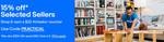 15% off Selected Sellers (GraysOnline, Bargains Online, edisons, Hobby Warehouse + More) @ eBay