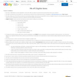 eBay 5% off Sitewide ($30 Min Spend)