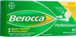 1/2 Price Berocca Performance Tablets - Mango & Orange 30 Pack $7.40 @ Big W