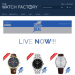 Up to 45% off RRP of 6 Tommy Hilfiger, Hugo Boss & Maserati Watches @ The Watch Factory