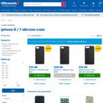 Apple iPhone 8 / 7 Silicone Case Blue $15   iPhone 8 Plus / 7 Plus Silicone Case Black $15 @ Officeworks