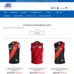 Essendon Bombers 2018 Supporter Guernsey from $19.95 (Save up to $90) + $15 Delivery (Free C&C in WA) @ Jim Kidd Sports