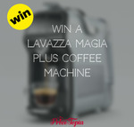Win a Lavazza Magia Plus Coffee Machine from Prize Topia